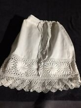 Cotton skirt for french doll jumeau