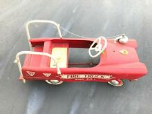Amf fire truck pedal car engine co