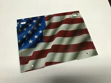 Airbrushed usa flag rear wall for