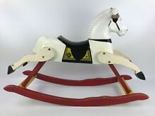 Rocking horse small scale wood