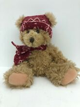 Cranberry 13 plush bear dressed for