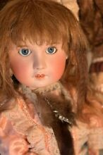 Doll open mouth pressed bisque doll