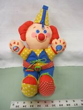 Fisher price 1990 learning clown