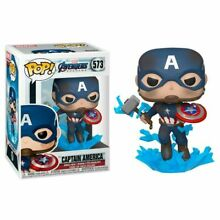 Funko pop captain america broken