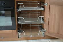 Pull out wire basket kitchen