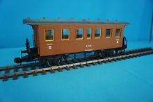 Marklin 5802 db personenwagen brown