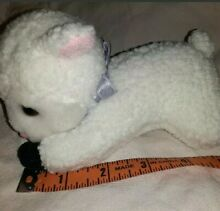 7 white baby lamb sheep stuffed