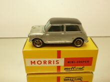 8 morris mini cooper grey met black