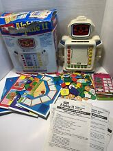 Alphie ii 2 robot reading math