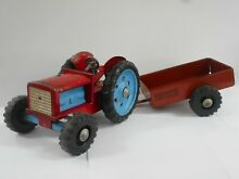 1950 60s pressed steel farm tractor