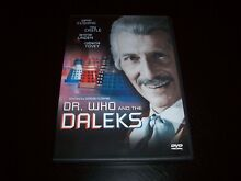 Dr who and the daleks dvd 2001