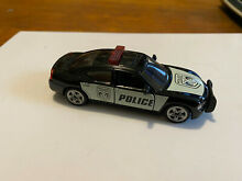 Dodge charger police car diecast