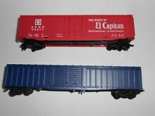 Other 50 60 boxcars good cond ho