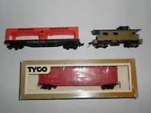 Mixed goods wagons x 3 ho scale