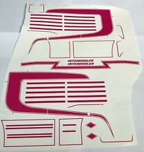 R620 highline scania decal kit in