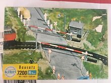 N scale guage 7200 curved railroad