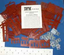 N scale modular wall system lot