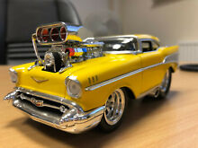 1957 chevy bel air 1 24 muscle