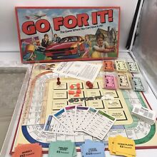 Parker go for it board game