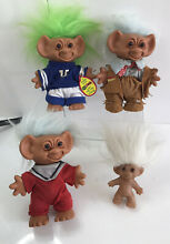 Wishnik lucky troll dolls used