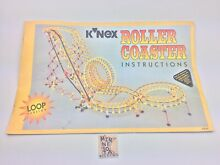 Instruction manual roller coaster
