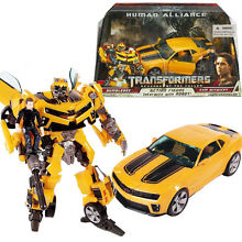 Bumblebee human alliance robot car