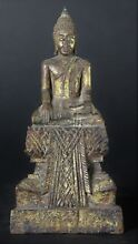 Attractive thai lacquered gilded