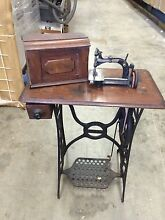 Daisy toy treadle sewing machine as