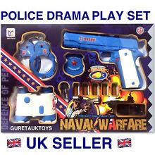 Toys police drama play set soft