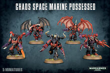 Chaos space marines possessed new