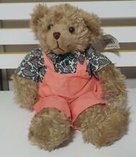 Country classics bear pink overalls