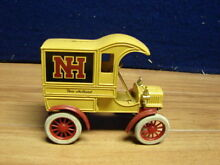 Diecast new holland deli truck bank