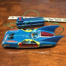 Batmobile tin litho remote control