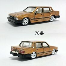 Custom volvo 760 gle hot wheels