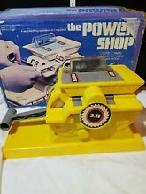 1978 the power shop woodworking toy