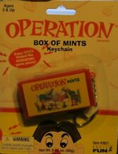 2004 operation box of game pieces