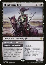 Mtg murderous rider x 1 nm throne