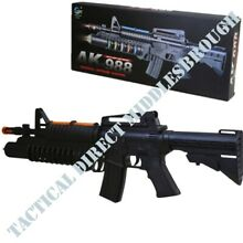 Kids m16 sniper rifle lights sound