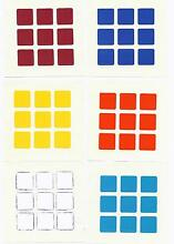 Replacement stickers for your rubik