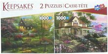 Deluxe puzzle 2 pack two 1 000 pc s