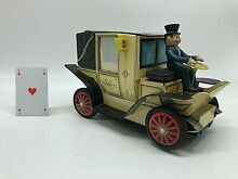 Alps tin toy car voiture tacot