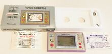 Nintendo game watch snoopy tennis