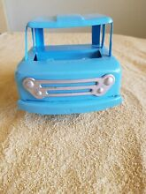 Tin toy truck blue