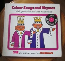 1970 s colour songs and rhymes book