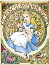 Yanoman alice in wonderland jigsaw