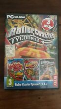 Roller coaster tycoon pack 1 2 3 pc