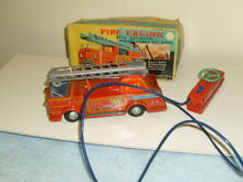 Boxed remote battery operated fire
