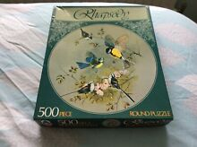 Ltd 500 piecet round puzzle no 1
