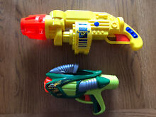 Buzz bee toys air blaster tek 6 and