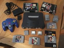 Console and games bundle n64 pal
